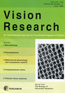 Vision Research Cover_June 1994_Small