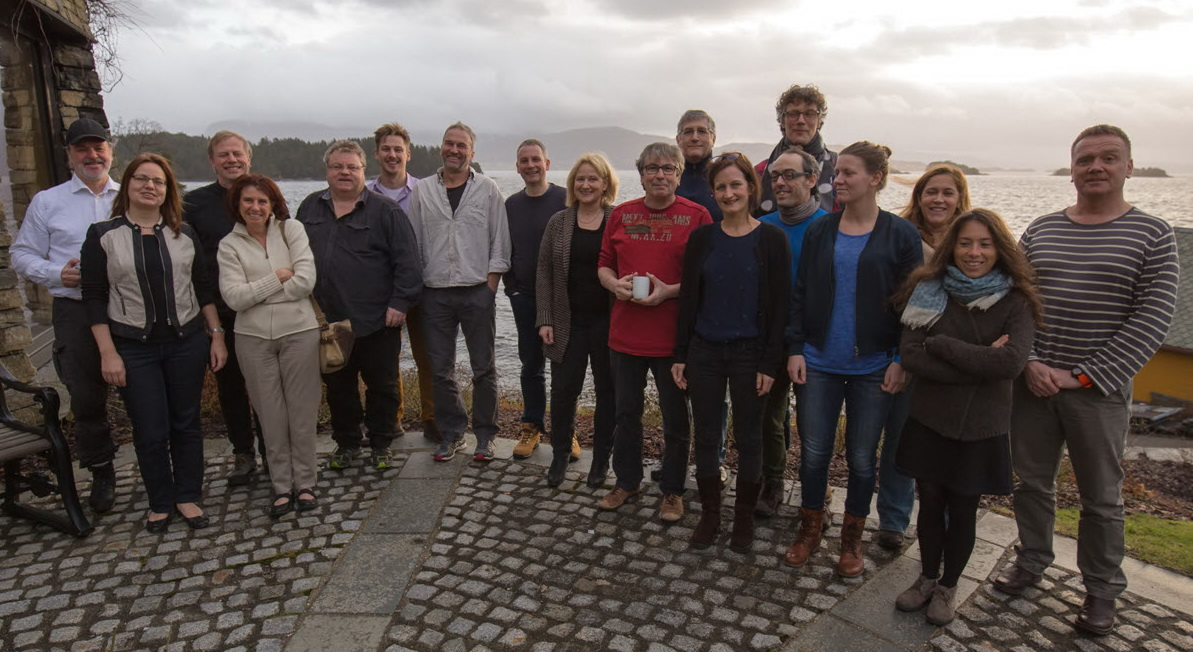 Workshop participants, from left to right: Lennart Balk, Ulrike Kamman, Bjørn Einar Grøsvik, Eleonora Ciccotti, Pål Olsvik, Marko Freese, Ketil Hylland, Alan Walker, Anne Berit Skiftesvik, Claude Belpaire, Howard Browman, Caroline Durif, Marti Pujolar, Michiel Kotterman, Lisa Sigg, Joana Raimundo, Francoise Daverat and Derek Evans