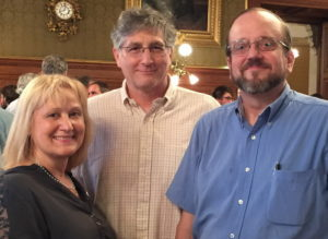 Howard, Anne Berit and Michael Miller