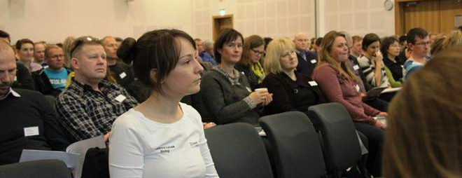 AB & RB at cleanerfish conference_Oslo_February 2016